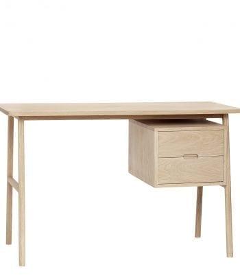 COMING SOON שולחן עץ אלון עם מגרות