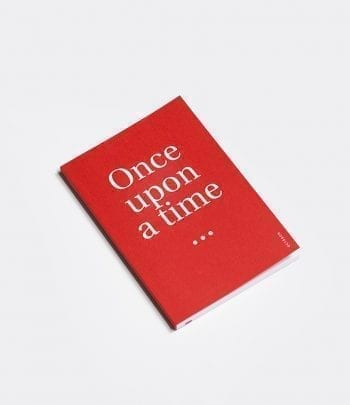 ONCEUPON VERMELL 350x405 - מחברת a5 אדומה once upon a time