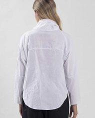 HILA FEINBERG הלה פיינברג FW21 חולצה מכופתרת לבן (3)