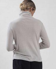 HILA FEINBERG הלה פיינברג FW21 חולצת גולף ריב טישו אבן (4)
