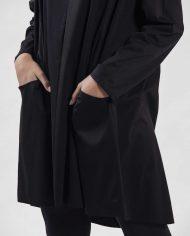 HILA FEINBERG הלה פיינברג FW21 שמלת גולף שחורה רחבה (4)