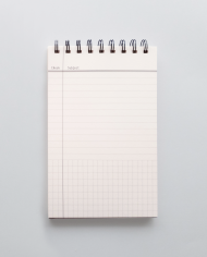 NotePad 20190515 Front ישר + Lined page – Cloused UP