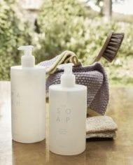 סבון ידיים אווירה